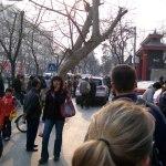Busy Beijing Stret