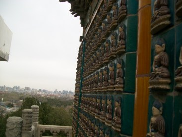White Stupa Decorations