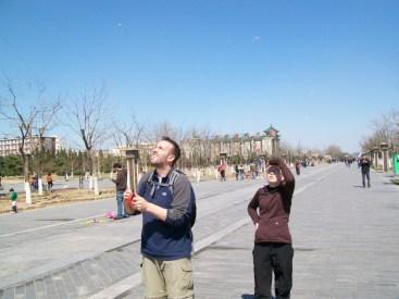Kites Yongdingmen Square Beijing China