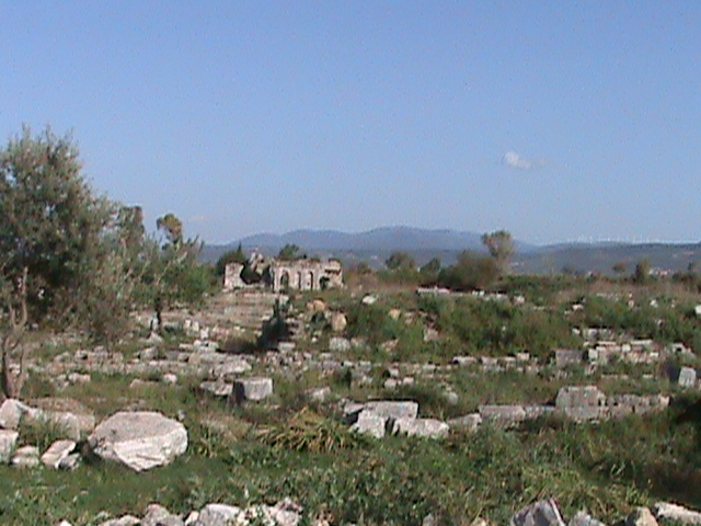 Turkey Tourism: Miletus Sheep Dog Incident at Greek Ruins