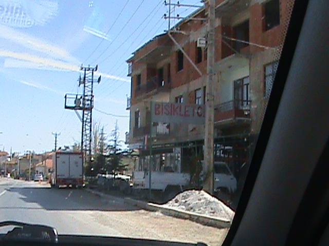 Driving in Turkey: Grazing a Guy with Boxes