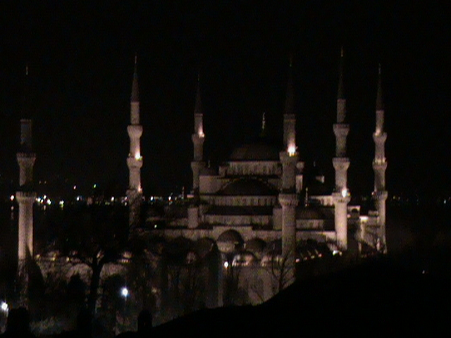 Istanbul: View of the City from Our Hotel Room