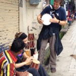 Drumming in Mcleodganj