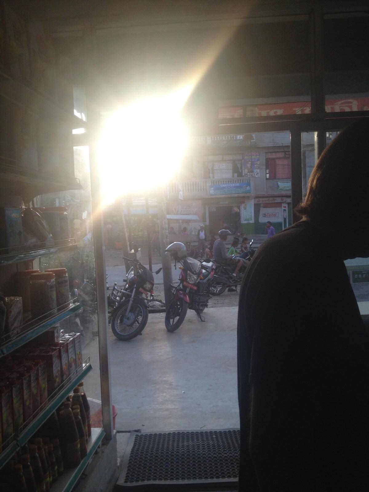 Nepal Travel: John Asks for Directions to Organic Store in Kathmandu