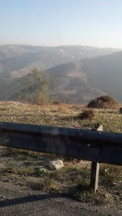 This landscape was just outside of Amman, Jordan.
