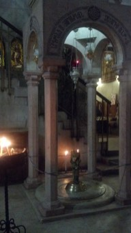 The Church of the Holy Sepulchre in Jerusalem, Israel.