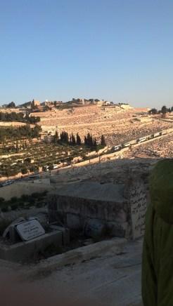 The Mount of Olives in Jerusalem, Israel.