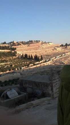 The Mount of Olives in Jerusalem, Israel.