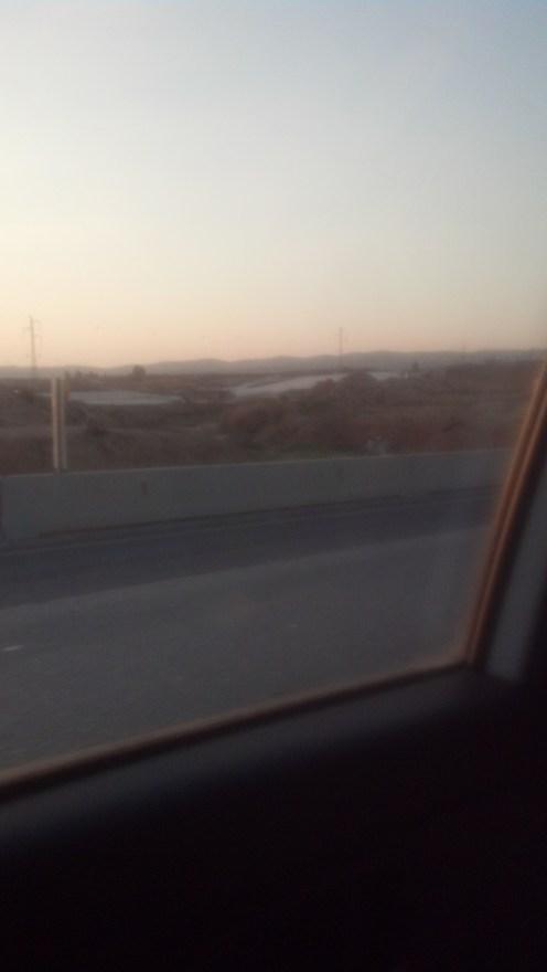 We eventually decided to go back north toward Kiryat Gat and Jerusalem.