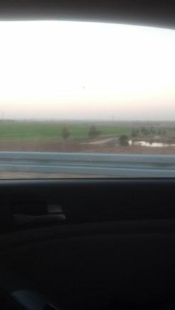 Driving in Israel.