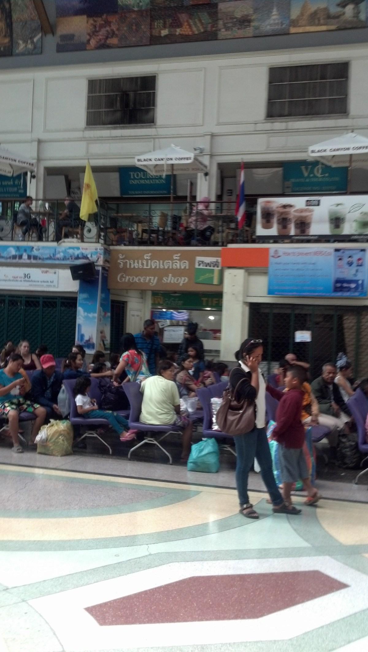 Hualamphong Train Station in Bangkok, Thailand: Photo Gallery