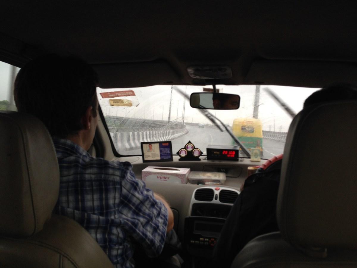 Delhi: Monsoon Rains in the City