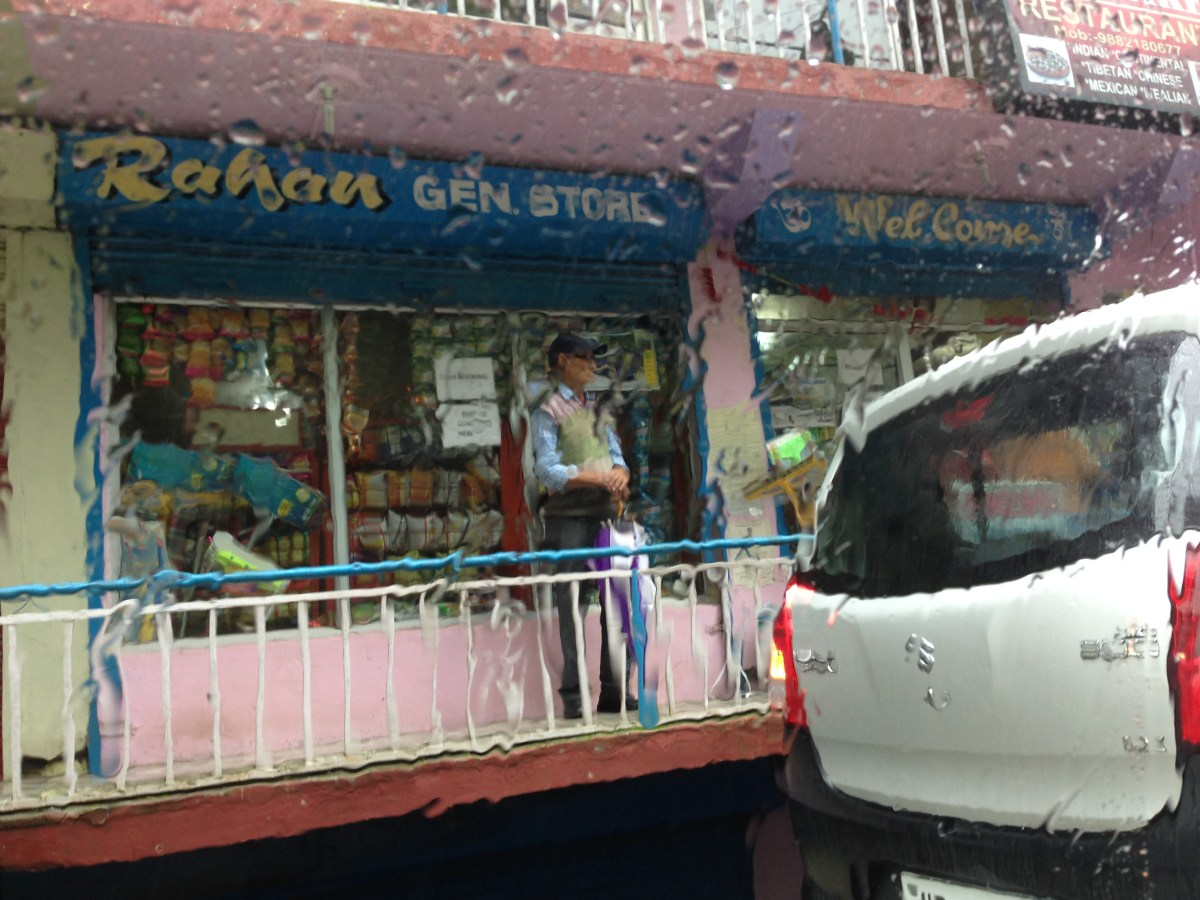 A Grocery Store Near Dal Lake Between Naddi Village and Mcleodganj