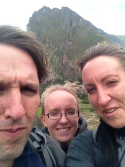 Ollantaytambo Peru Ruins Selfie