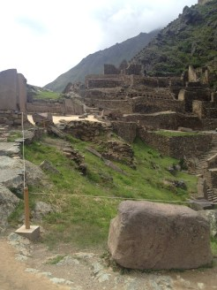 Ollantaytambo ruins.