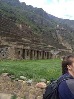 Ollantaytambo is located in the Sacred Valley near Machu Picchu.