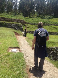 The Saksaywaman ruins were just outside of Cusco.