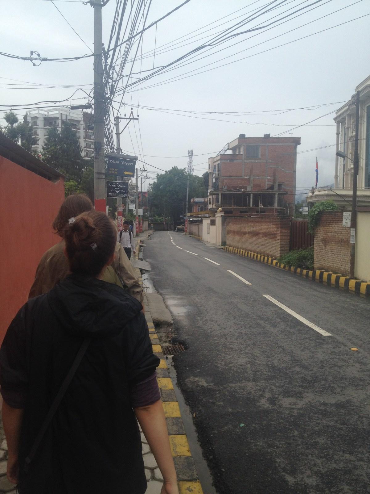 Kathmandu Tourism: Walking Near Freak Street and Durbar Square