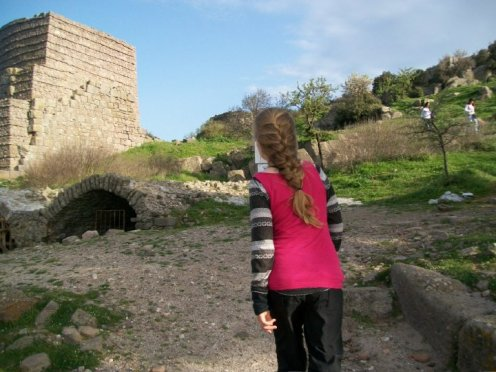 Aristole taught students at the now ruined city near Assos.