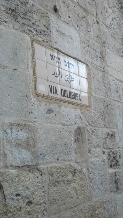 Israel Jerusalem Via Dolorosa