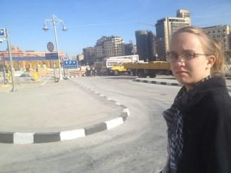 Cairo Egypt Tahrir Square Lydi
