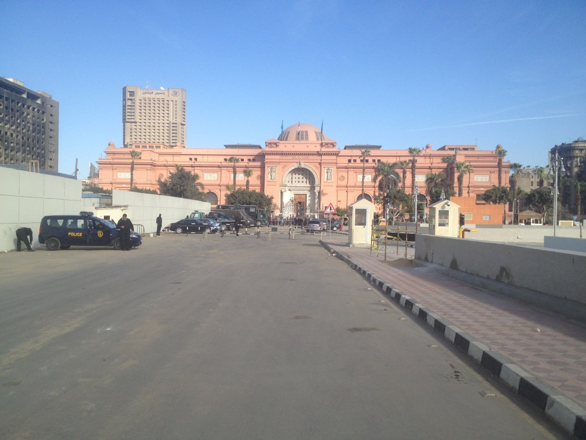 Tahrir Square and the Egyptian Museum: Photo Gallery
