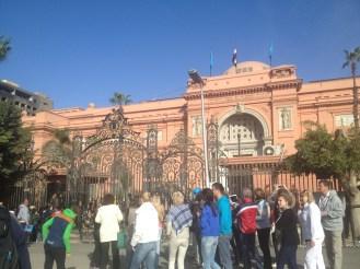 Cairo Egypt Tahrir Square Egyptian Museum
