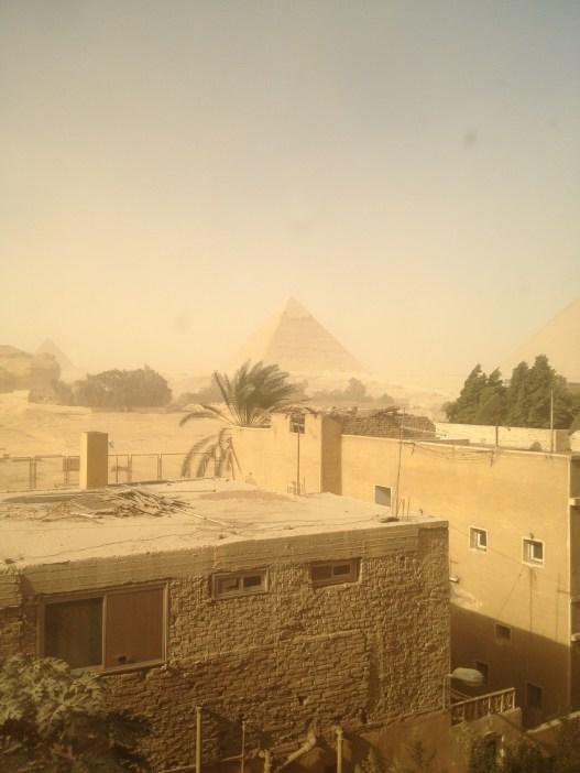Pyramids Cairo Egypt Nazlet Al Sammam
