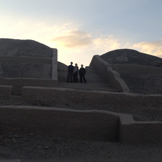 We visited the Cahuachi ruins in Nazca, Peru in 2013.