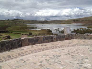Puno Peru Sillustani
