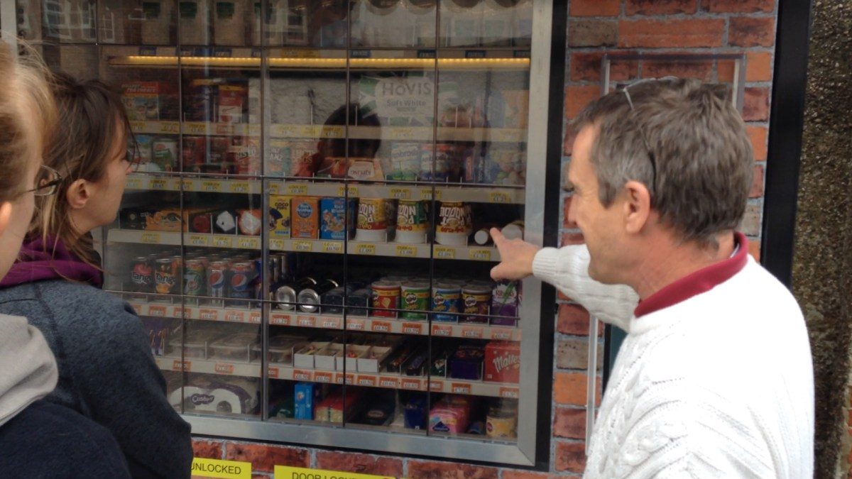 Interview with Inventor of the Speedy Store in Ashbourne, England