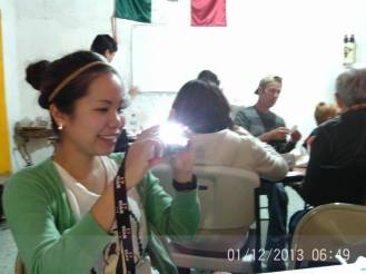 Making Pinatas Escuela Falcon Guanajuato Mexico 6