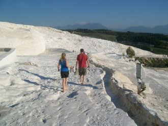 Pamukkale Turkey Travertine Terraces 36