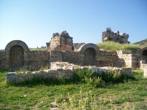 Pamukkale Turkey Travertine Terraces Hierapolis15