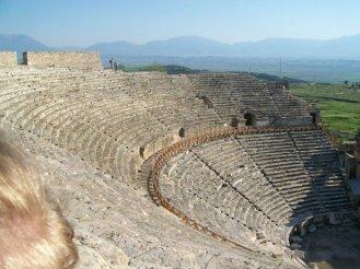 Pamukkale Turkey Travertine Terraces Hierapolis24