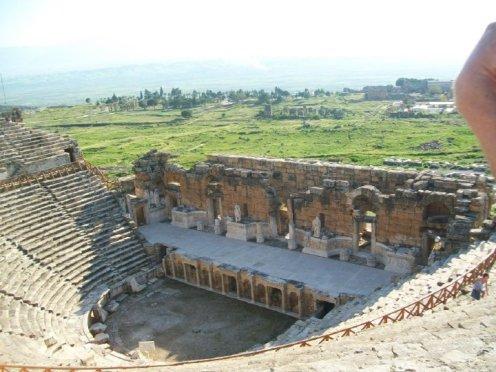 Pamukkale Turkey Travertine Terraces Hierapolis26