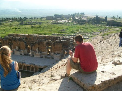 Pamukkale Turkey Travertine Terraces Hierapolis27
