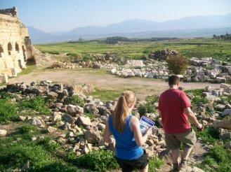 Pamukkale Turkey Travertine Terraces Hierapolis32