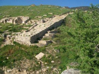 Pamukkale Turkey Travertine Terraces Hierapolis9