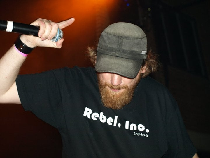 Sacrificial in Concert with my REBEL, INC. T-shirt !