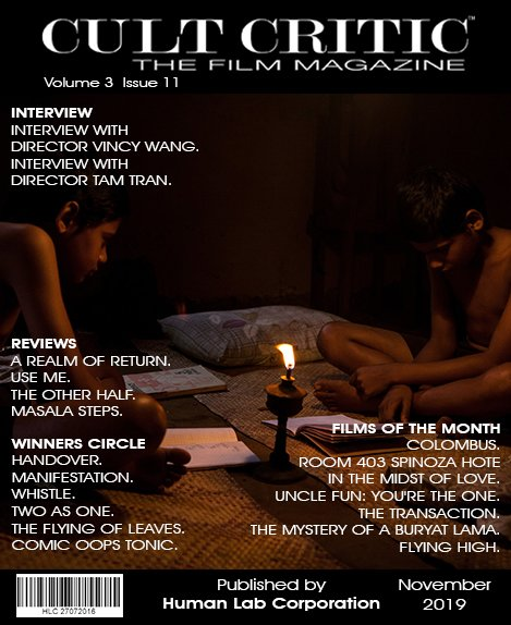 Short Review on MANIFESTATION from Cult Critic Film Magazine!
