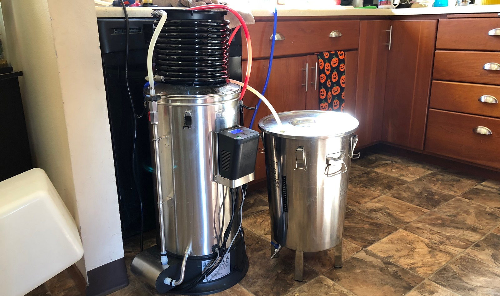 How To Connect Wort Chiller To Kitchen Sink