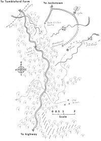 b2 map ch7 mines to visitors centre