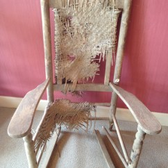 1920s Rocking Chair Beach Pillow With Strap The Brumby Company Rocker Repair 1920 S Porch