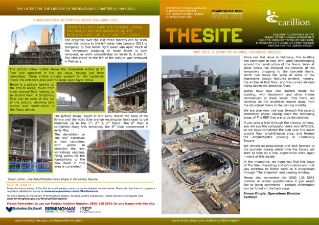 The Site Chaper 8 page 1