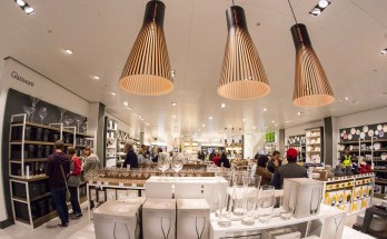 Inside the John Lewis store is brightly and tastefully presented.