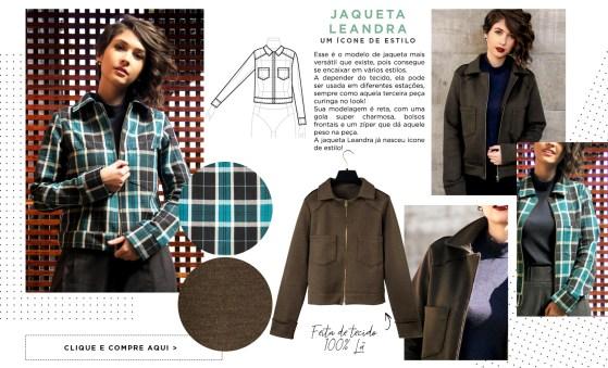 modelo jaqueta leandra