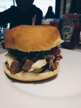 Novo hambúrguer do The Fifties