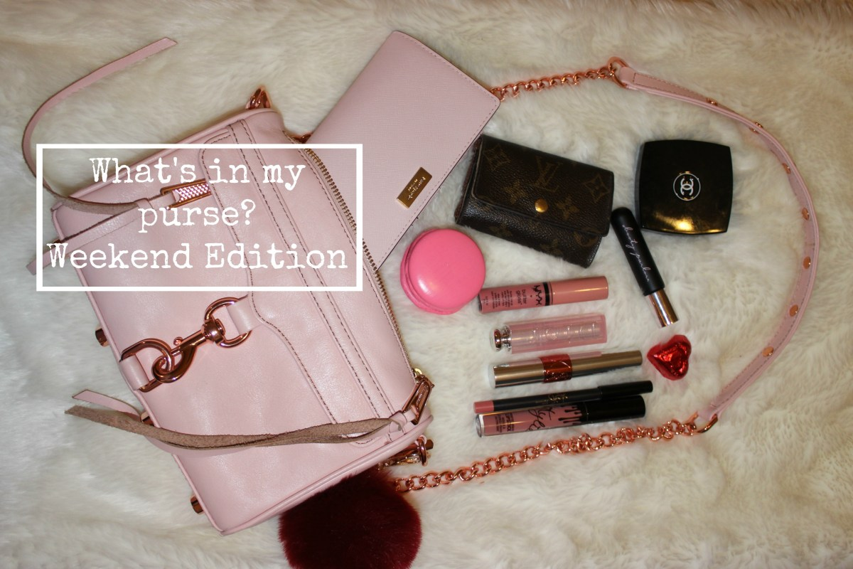 What's in my purse? Weekend Edition