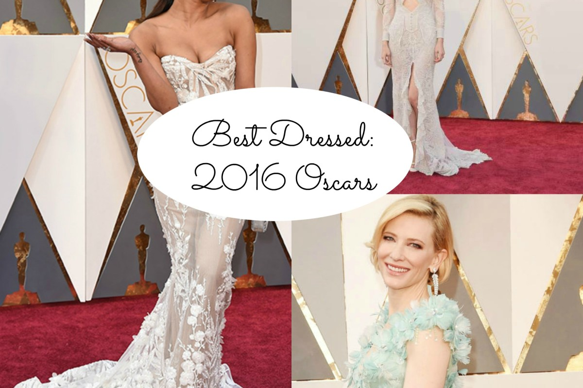 The 2016 Oscars Best Red Carpet Looks